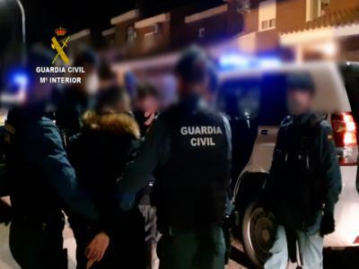 Desarticulan a un grupo criminal por robar en 24 municipios de Toledo