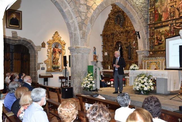 Dueñas y Serrano ensalzan el órgano de la Iglesia de Santiago El Nuevo de Talavera