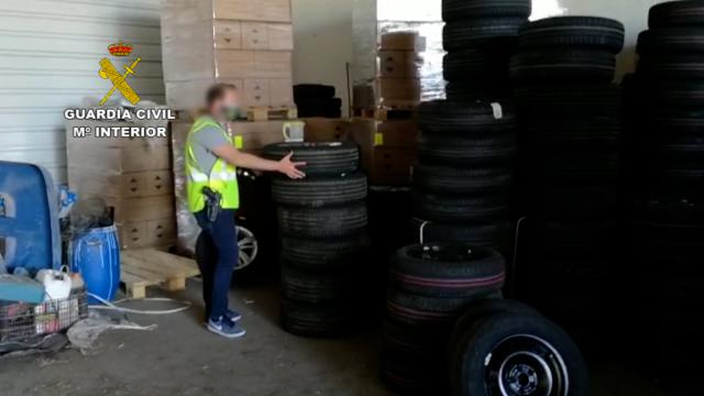 SUCESOS   Recuperan genero y vehículos por más de 1 millón de euros en la operación TRAPANI