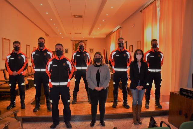 TALAVERA | 5 bomberos más para la ciudad