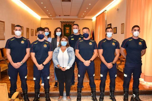 TALAVERA   Incorporación de 5 bomberos en prácticas después de 9 años sin vacantes