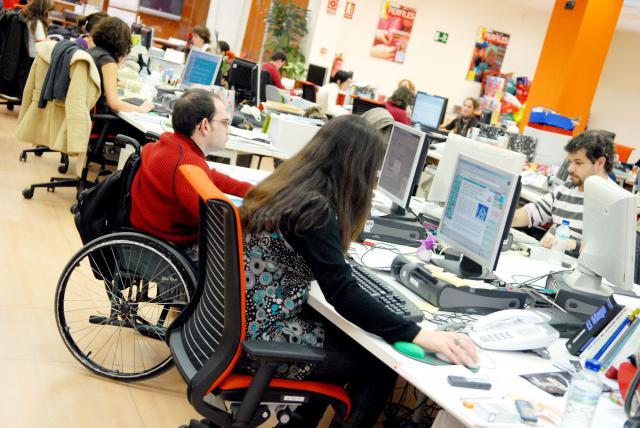 46 alumnos con discapacidad de la Universidad de CLM accedido a prácticas laborales