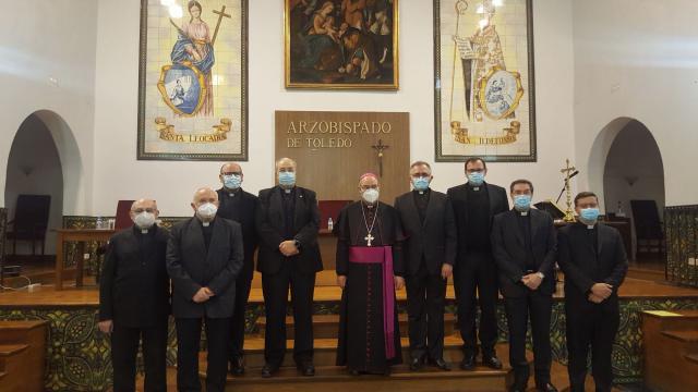 TALAVERA | El nuevo vicario realiza la profesión de fe y el juramento