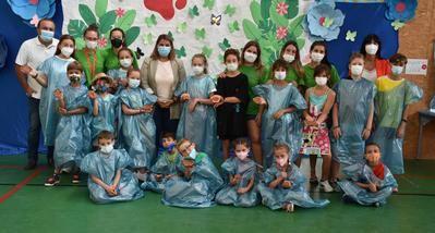 250 familias de Talavera participan en el programa 'Campamentos Urbanos'