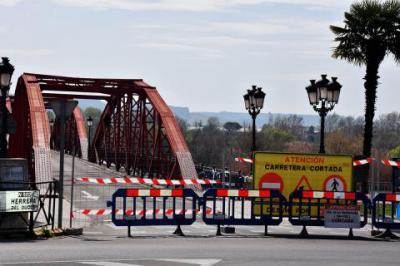 TALAVERA | El lunes se volverá a cerrar al tráfico el Puente de Hierro