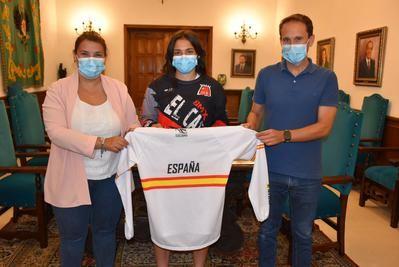 La talaverana Carla Gómez estará en el Campeonato de Europa de BMX