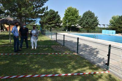 Se priorizan las labores de limpieza y desinfección de las piscinas
