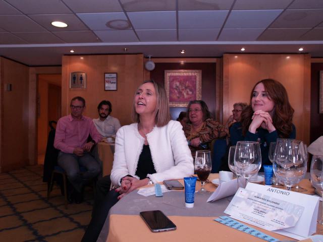 Comida solidaria anual de la Asociación de Parkinson de Talavera
