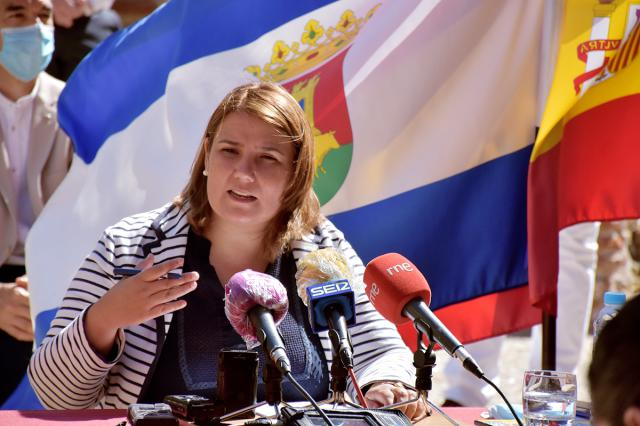 La alcaldesa de Talavera, Tita García Élez en una imagen de archivo