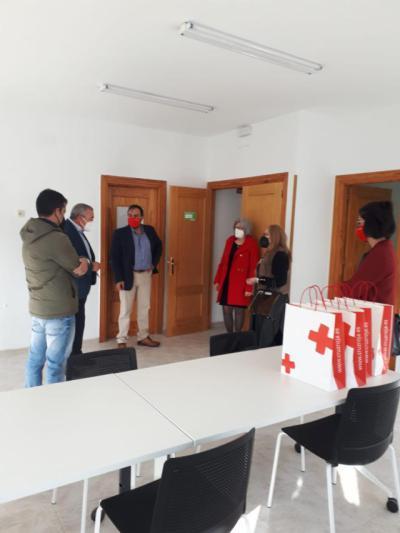 EN UN PUEBLO DE TOLEDO | Cruz Roja abre un nuevo punto local de actividad