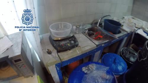 Desarticulada la mayor red de extracción de cocaína de España, con un laboratorio en El Viso de San Juan