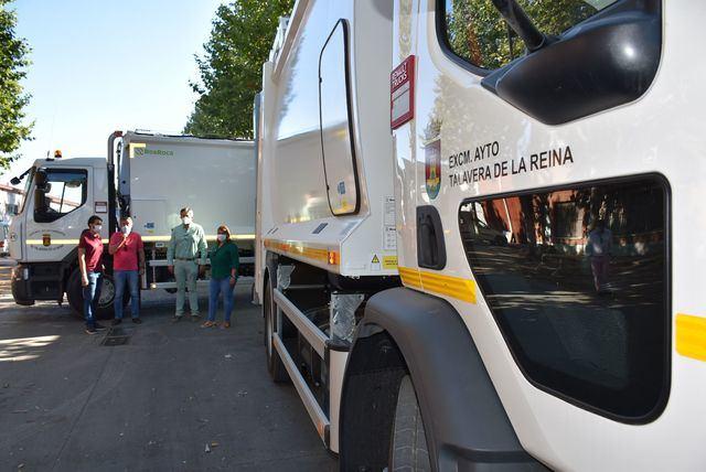 TALAVERA   Dos nuevos vehículos para el servicio de recogida de basura