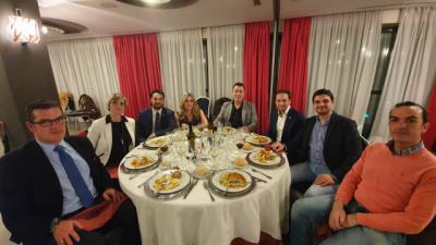 El CF Talavera celebró su tradicional cena navideña