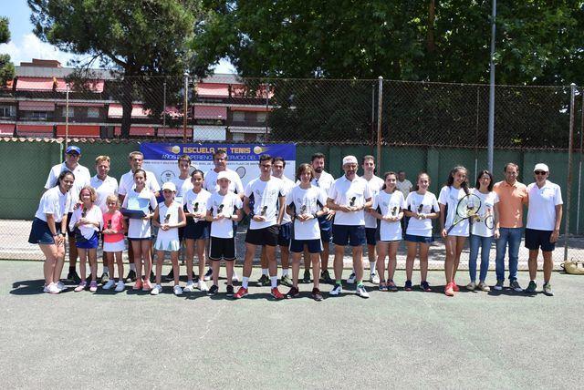 XXXIV clausura de la Escuela del Club de Tenis Talavera