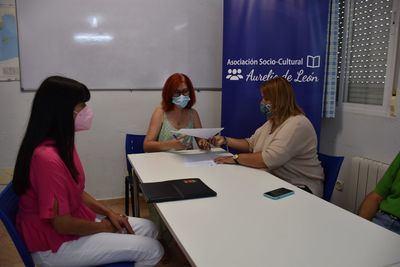 Importante acuerdo con la asociación 'Aurelio de León'