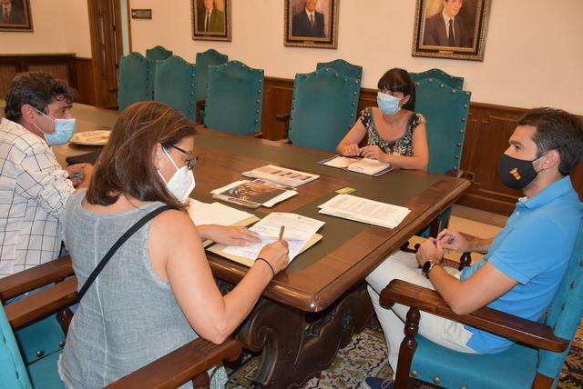 TALAVERA | Ayuntamiento y ATANDI firman un acuerdo para realizar cursos