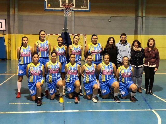 Agustina García asiste a una de las semifinales de la Copa 2ª División Femenina en Talavera de la Reina