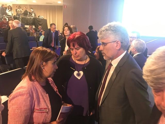 Agustina García apuesta por el corredor de la zona sudoeste para equilibrar el territorio y actualizar la infraestructura férrea