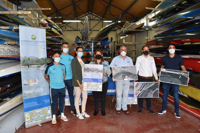 Talavera se convierte en capital nacional del piragüismo