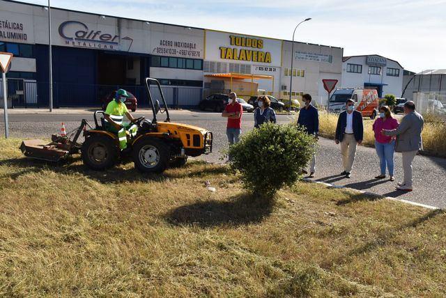 TALAVERA | El Ayuntamiento realiza mejoras en la imagen de Torrehierro para