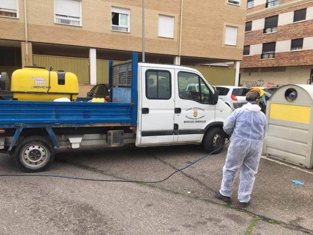 CORONAVIRUS   Talavera suma un nuevo equipo al operativo de desinfección en las calle