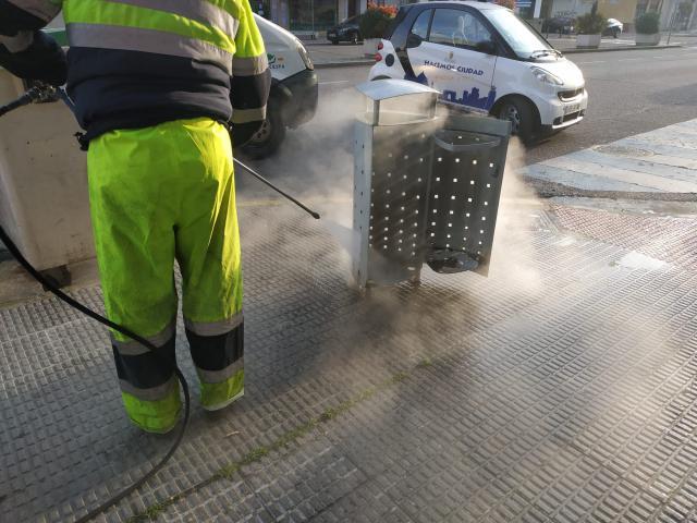 CORONAVIRUS | Talavera pone en marcha un plan especial de limpieza y desinfección