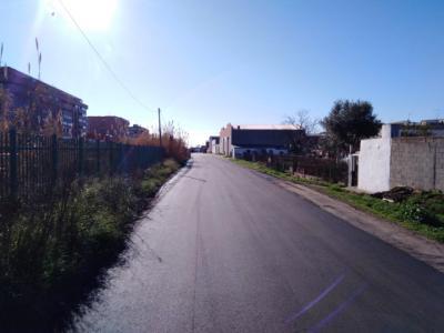 Obras de mejora y pavimentación en el Camino de Pastera