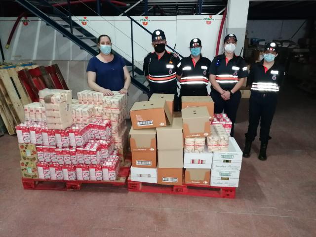 TALAVERA | Siguen las donaciones al banco de alimentos