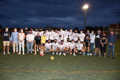 Homenaje al juvenil del EDF Patrocinio por su ascenso a Preferente