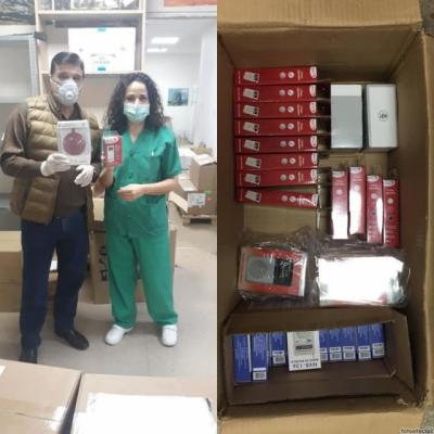 TALAVERA | Tien21 dona radios para los pacientes ingresados en el Hospital por Covid-19