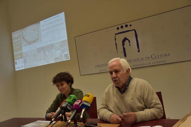 'Re-conociendo nuestras murallas', la exposición para entender y conservar el patrimonio de Talavera