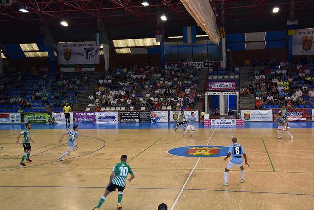 Soliss FS Talavera y Betis se reparten los puntos
