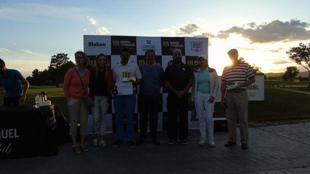 Palomarejos celebra el Mahou San Miguel Golf Club 2019