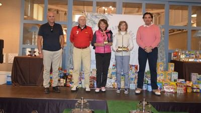 Celebrado un torneo benéfico en Palomarejos para recoger alimentos infantiles para Cáritas