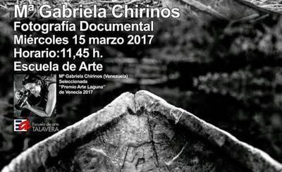 Gabriela Chirinos presentará sus trabajos sobre fotografía documental