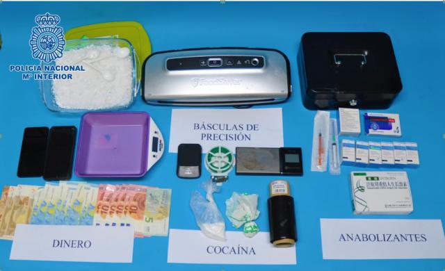 Desarticulado un punto de venta de cocaína en Ciudad Real