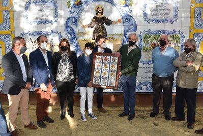 Merecido homenaje del Grupo Garvín a la Hermandad de San Isidro