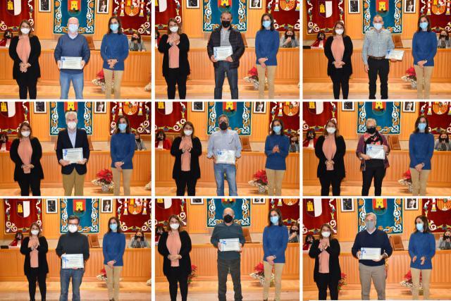 FOTOS | Reconocimiento a 28 empleados municipales con motivo de su jubilación