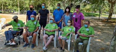 Talavera celebra los primeros juegos al aire libre para personas con discapacidad