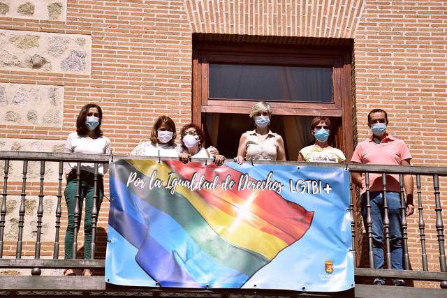 TALAVERA   Los puentes de la Alameda lucirán con los colores de la bandera LGTBI+