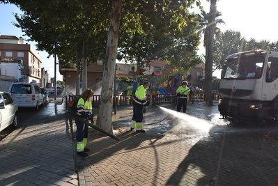 Comienza la quinta limpieza intensiva por todas las calles y barrios