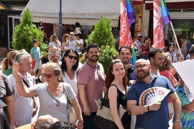 Talavera celebra la manifestación a favor de los derechos LGTB+
