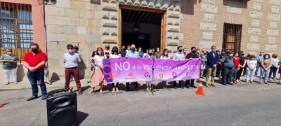 El Ayuntamiento de Talavera se suma al minuto de silencio de la FEMP