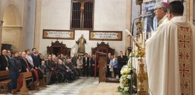 García Élez acompaña a Braulio Rodríguez en su última misa como Arzobispo en la Basílica del Prado