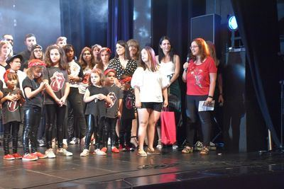 El Teatro Palenque celebró el magnífico espectáculo musical de la Academia Mozart