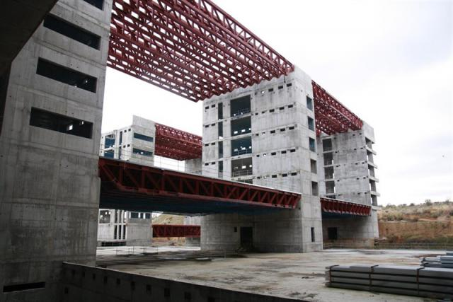 El nuevo Hospital de Toledo abrirá en los primeros meses de 2020