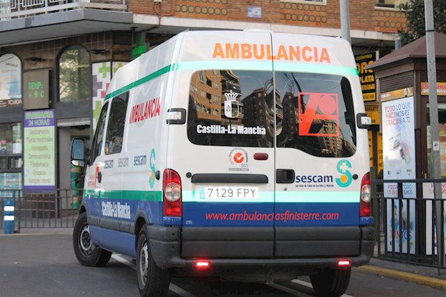 Ambulancia en Talavera de la Reina (Foto: Europa Press)
