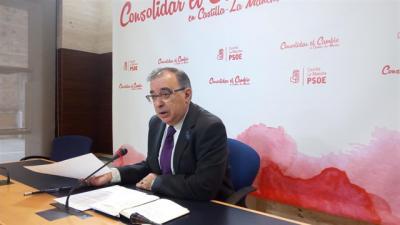 El diputado del Grupo Parlamentario Socialista, Fernando Mora