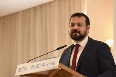 Juan Ramón Amores pide a la ciudadanía que colabore en la visibilización de la ELA