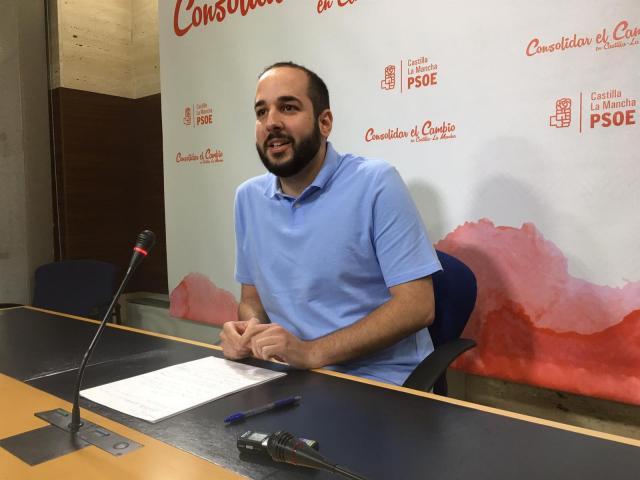 l diputado del PSOE de Castilla-La Mancha Miguel González Caballero